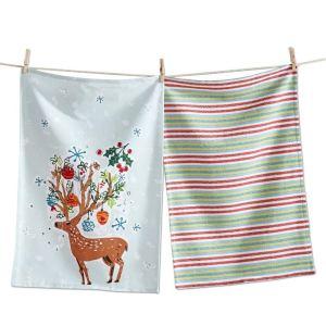 dish towels holiday hostess gift