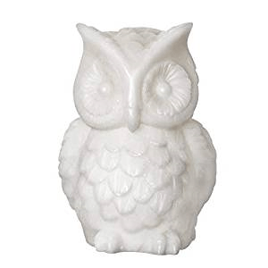 owl candle flameless