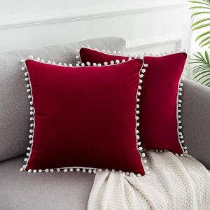 Red Christmas Throw Pillows