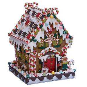 Claydough Gingerbread House