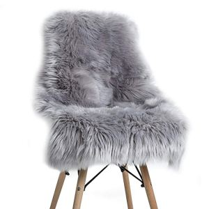Fluffy bedroom chair
