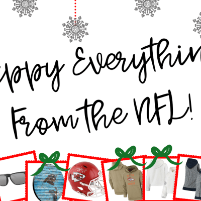NFL Gift Guide For Your Football Fan!