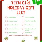 Teen Girl Gift Guide