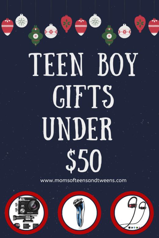 Teen Boy Gifts Under $50