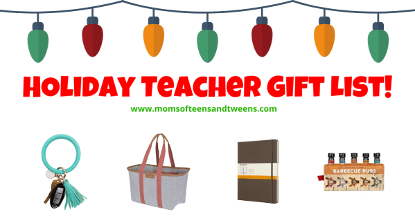 Holiday Teacher Gift List