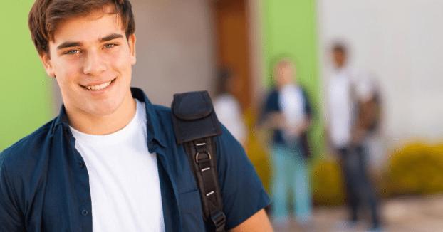teenage son high school e-learning