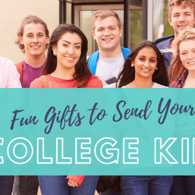 Fun Gifts To Send Your College Kid