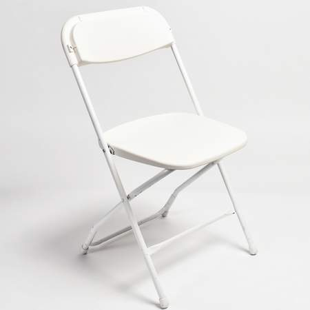 white folding chair silver metal and wood dining chairs home products 1