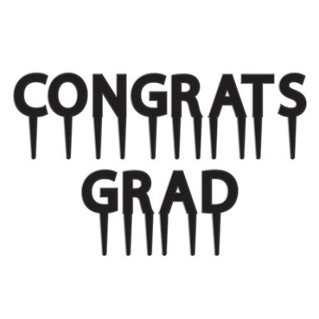 The Beistle Company Graduation Congrats Grad Picks (Set of