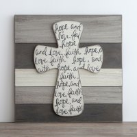 Faith, Hope and Love  Wall Art  Moms Priority