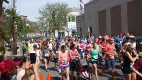 Mom's Run 2015 - 5K Walkers Supporting Dana Farber Cancer Research