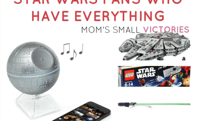 Unique Gift Ideas For Star Wars Fans Who Have Everything
