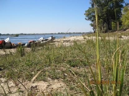 Zambezi River in Zimbabwe