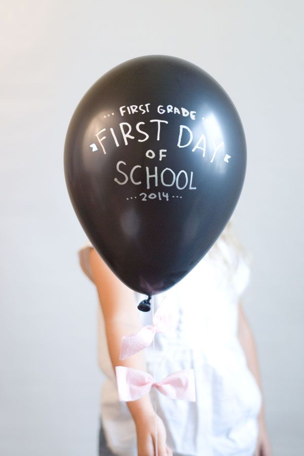 5 DIY Ideas For Back To School Photos