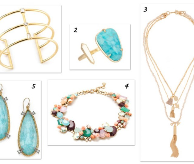 Top  Spring Jewelry Trends We Want Now Mom Style Lab Mom Style Lab