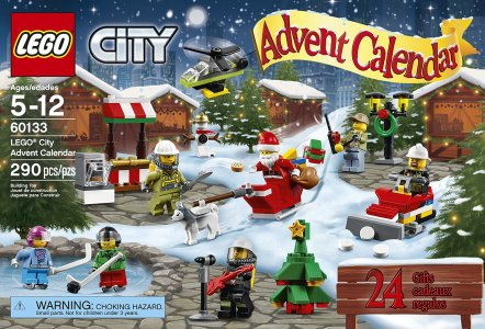 Calendars for Christmas 2016: LEGO, Disney, Fisher-Price
