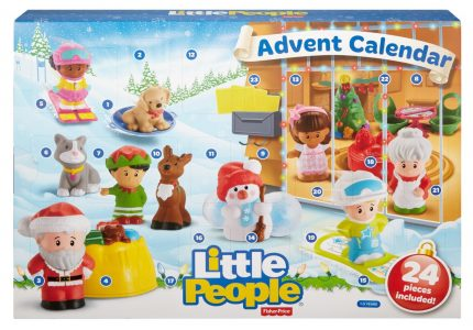 Advent Calendars for Christmas 2016: LEGO, Disney, Fisher-Price