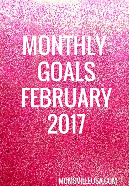 Monthly Goals February 2017