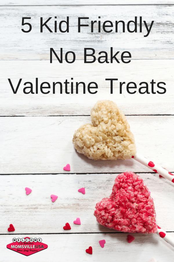 No Bake Valentine Treats