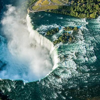 A Quick Detour to Niagara Falls Behind the Falls