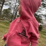 Gadsden Fleece Zip-Up Toddler Hoodie