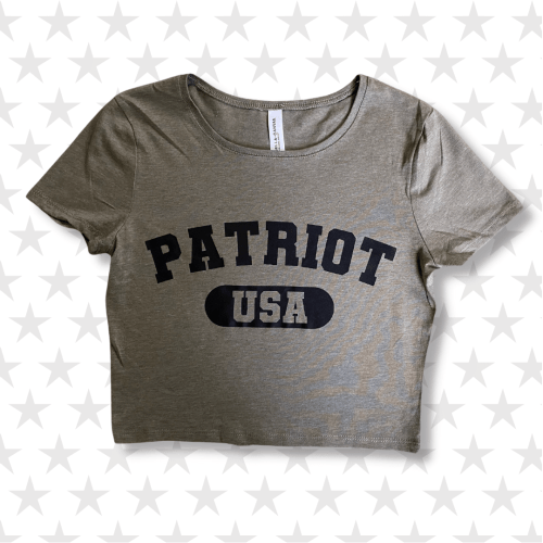 Patriot USA Fitted Crop Tee