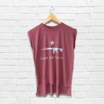 Come and Take It AR15 Women's Muscle Tee
