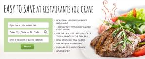 $3.50 for a $25 Restaurant Gift Certificate