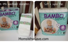 Bambo Natural diapers giveaway