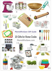 Looking for Gift Ideas? Here are 20 Gifts for the Home Cook!