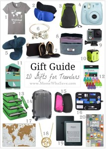 Gift Guide — 20 Great Gift Ideas for People Who Love to Travel
