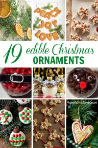 DIY — 19 Edible Christmas Ornaments
