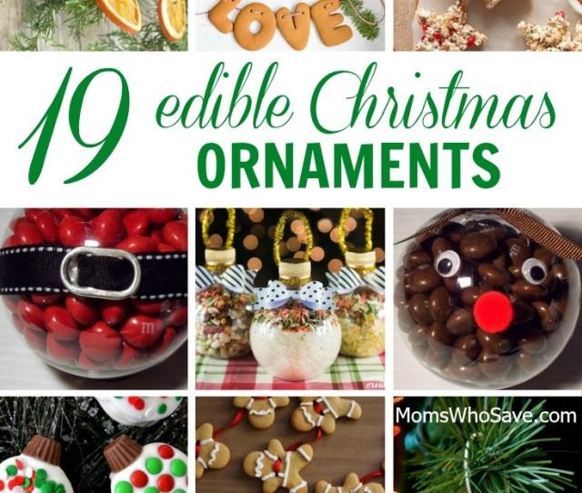 Diy  Edible Christmas Ornaments