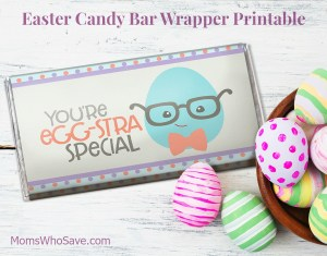 Free Easter Candy Bar Wrapper Printable