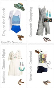 4 Fun Looks for Your Beach Vacation