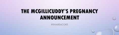 The mcgillicuddy's pregnancy Announcement