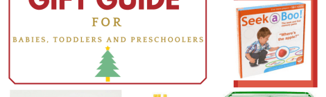 Just the Right Gifts for Babies, Toddlers and Preschoolers