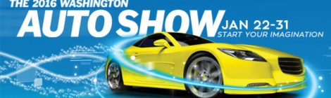 Get Revved Up at the Washington Auto Show *GIVEAWAY*