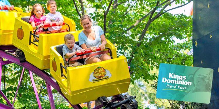 Preschool Pass - Kings Dominion and Busch Gardens