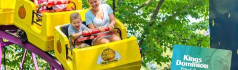 Free Season Passes for Kids at Kings Dominion and Busch Gardens