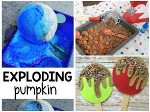Fall Preschool Crafts 1