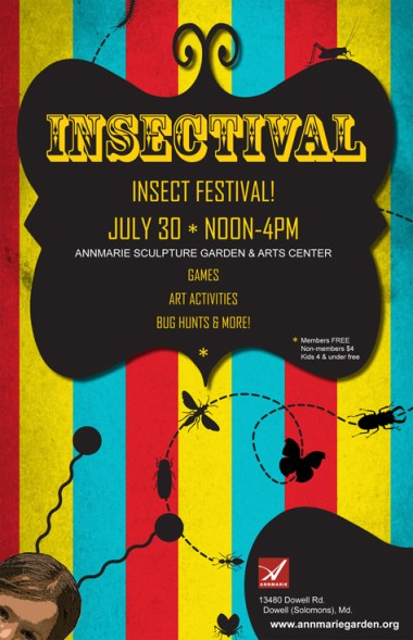 Insectival - AnneMarie Gardens