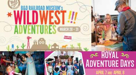 Spring Time Adventures at the B&O Railroad Museum