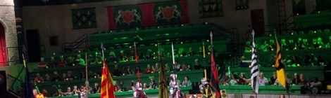 The Queen has arrived at Medieval Times and the Celebration Begins