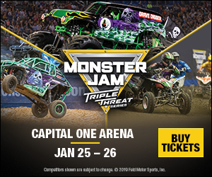 Monster Jam Triple Threat Series DC