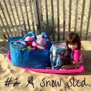 #2 A Snow Sled