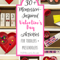 30+ Montessori-Inspired Valentine's Day Activities for Toddlers and Preschoolers