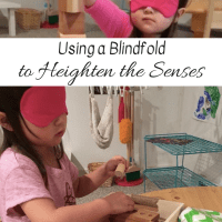 Using a Blindfold to Heighten the Senses