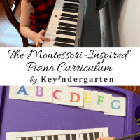 The Montessori-Inspired Piano Curriculum by Keyndergarten
