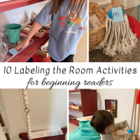 10 Labeling the Room Activities for Beginning readers
